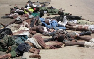 According to Amnesy International, nearly 2,000 people were massacred on January 10 alone by Islamic terrorists in Nigeria. Photo courtesy: Elombah.com