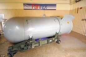 The B53 nuclear bomb, the largest and most powerful weapon in world history.