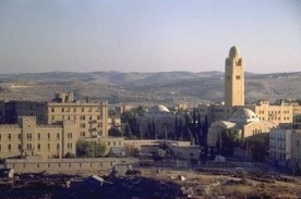 King David Hotel and YMCA, Jerusalem, 1950