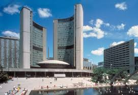 Toronto City Hall - where you can still hear O Canada. Credit: Canadian Encyclopedia