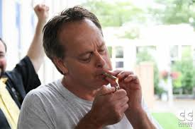 Marc Emery, The Prince of Pot, doing what he does best. Credit: Marc Emery
