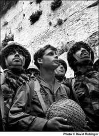 June 10,1967. Israeli paratroopers reach the Western Wall File#: L.7210/30