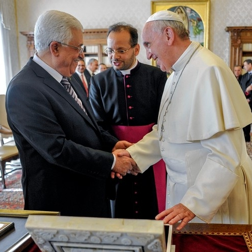 "The Pope and Palestine:  Abbas Is An ""Angel""?"