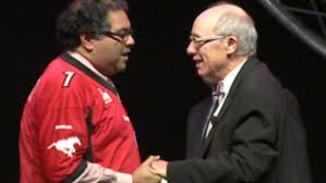 Muslim Mayor of Calgary Nenshi and Jewish Mayor of Edmonton Mandel, November 2013