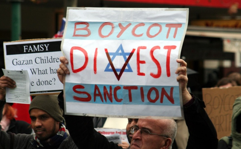 Boycott Israel?  Only Palestinians Suffer