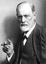 Sigmund Freud and his cigar