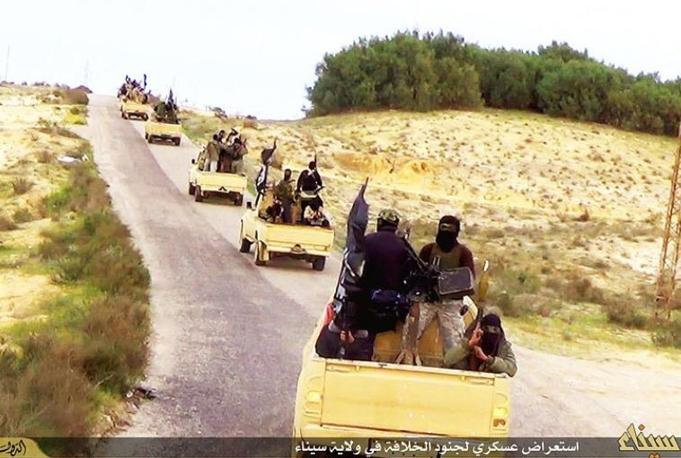 ISIS Rockets Launched atIsrael