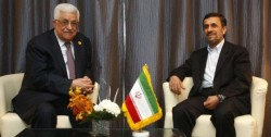 The Palestinian Authority and former Iranian Presidents meet