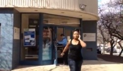 A woman storms out of a Planned Parenthood office in Delaware, just before attacking a 63 year old grandmother of 12.