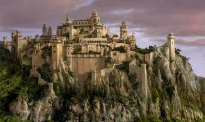 Cair Paravel, the royal palace of Narnia - which like Palestina is also imaginary