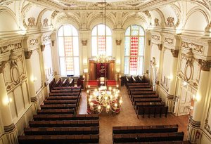 The Great Synagogue of Berlin, considered by many to be one of the most beautiful in the world.