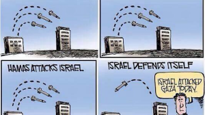 Media bias toward Israel