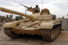 ISIS captured many tanks from the Iraqi army, including the relatively modern Soviet T-72, of which it may have as many as 10.