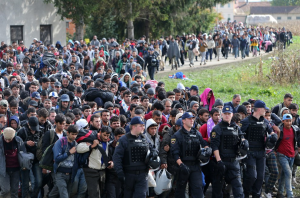 Tens of thousands of Muslim migrants march through Slovenia to Germany. What on earth is Chancellor Merkel THINKING?