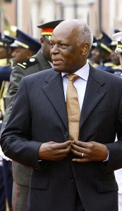 José_Eduardo_dos_Santos, President of Angola, in recent days