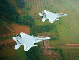Israeli F-15 Fighter Jets over Auschwitz Concentration Camp, September 2013