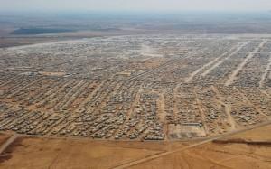 Zaatari: the Syrian city in exile. (Credit: Mandel Ngan/AP/Press Association Images)