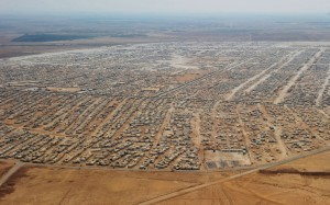 Zaatari: the Syrian city in exile. (Credit: Mandel Ngan/AP/Press Association Images)