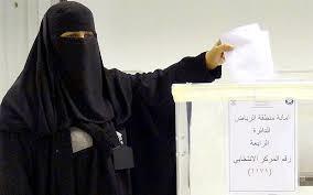 Saudiwomenvote
