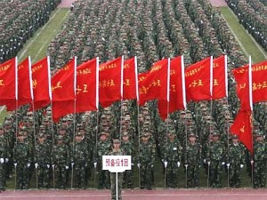 China's military buildup is a global concern