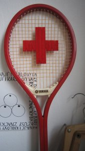 Red Cross racket