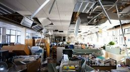 At 4:30 AM on September 4, 2010, an earthquake measuring 7.1 on the Richter scale struck Canterbury, New Zealand. This school was scheduled for seismic upgrading not yet completed. It was completely destroyed - thankfully before kids came to class that Monday.