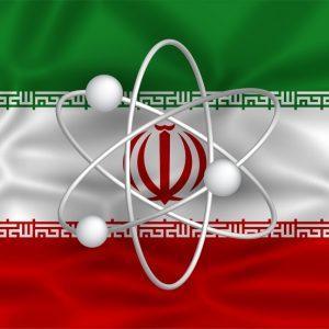 Iran Nuclear Flag