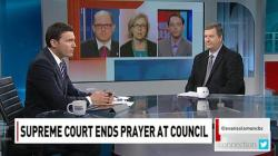 CBC panelists talk about the end of the Lord's Prayer at national Council meetings (Credit: CBC News)