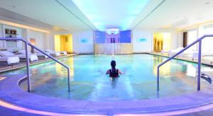 The Luthan Hotel pool in Riyadah, a women's only facility that seems to not be catching on. (Credit: Luthan Hotel)