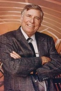 Gene Roddenberry, creator of Star Trek universe. (Credit: IMDB)