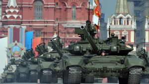Russian tanks rumble through Moscow as Putin orders 40 million citizens, and 200,000 responders, to drill for possible war with America.