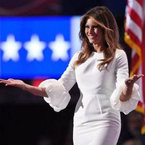 Melania Trump showstrue class at the Republican National Convention in Cincinnati in
