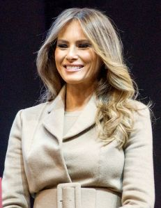 The incomparable new First Lady of the United States, Melania Trump. (Credit: Wikipedia Common)