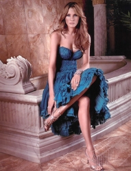 has graced the covers of 13 magazines including Vogue, Harper's Bazaar, Ocean Drive, InStyle, New York Magazine, Avenue, Allure, Vanity Fair, Self, Glamour, GQ, Elle, FHM