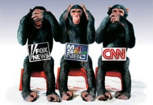 Cable news has been rushing to the lowest common denominator for years and will just keep getting worse. (Credit: Saysomethingblogcom)