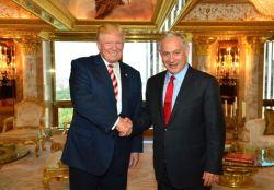 Donald Trump and Israeli Prime Minister Benjamin Netanyahu met November 10 at Trump Tower. (Credit: Jerusalem Post)