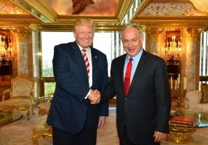 Donald Trump and Israeli Prime Minister Benjamin Netanyahu met November 10 at Trump Tower. (Credit: Jerusalem Post)