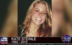 Kate's Law is dedicated to Kate Steinle, whom an illegal felon and total strangee shot and killed on the Pier in San Francisco, CA, dying in her dad's arms. Later we learned the demon that shot her had been thrown out of the US for committing previous felonies - and was let back in. I hope he hangs. (Credit: DC Gazette)