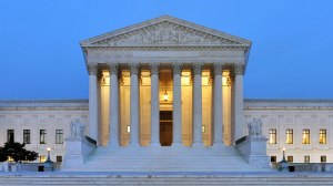 The U.S. Supreme Court Building in Washington, DC. (Credit: USA Today)