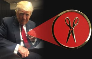 Donald Trump REALLY believes in cutting red tape :)
