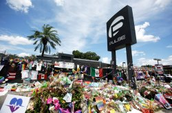 Pulse Nightclub memorial. it matters what really did and didn't happen here.