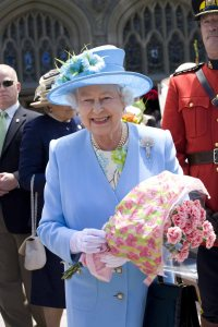 (The queen In Canada - June 2010 - her 22nd and most recent to one of her favorite countries)